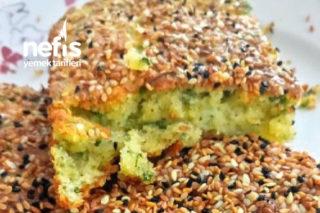 Yeşillikli Peynirli Tuzlu Kek Tarifi