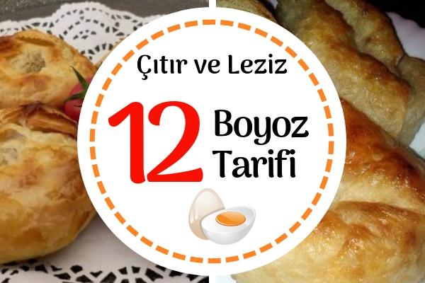 Boyoz Tarifleri – Meşhur İzmir Kahvaltısı Boyozun 12 Çıtır Hali Tarifi