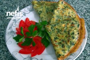 Ispanaklı Ve Lor Peynirli Krep Tarifi