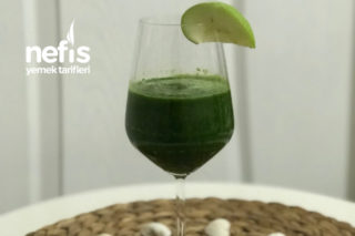 Metabolizmayı Hızlandıran Yeşil İçecek Tarifi