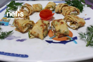 Sebzeli Krep Sarma (Kahvaltı Sofrasının Vazgeçilmezi) Tarifi