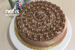 Teremyağlı Çikolatalı Yaş Pasta Tarifi