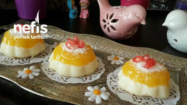 Teremyağlı Portakal Pelteli İrmik Tatlısı