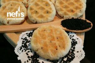 Teremyağlı Tadı Efsanelerde Tuzlu Waffle Kurabiye Tarifi