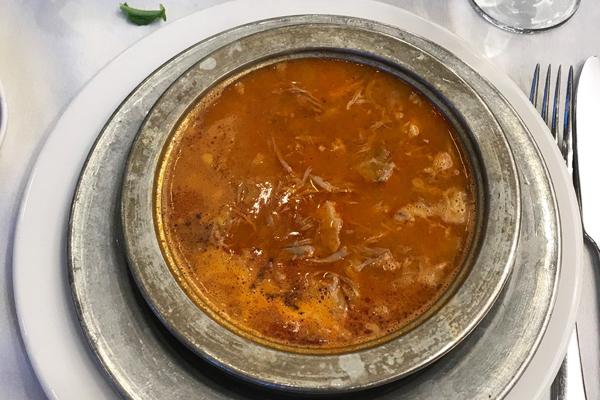 çanak beyran çorbası