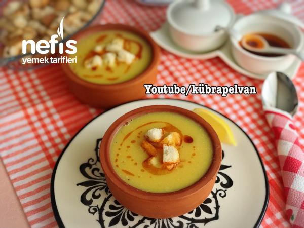 Lokanta Usulü Mercimek Çorbası (videolu)