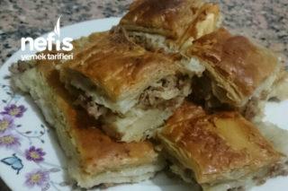 Milföy Hamuruyla Kıymalı Börek Tarifi