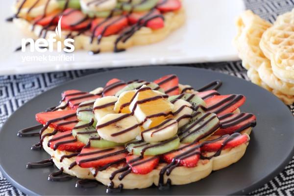 Yumuşacık Waffle Tarifi (videolu)