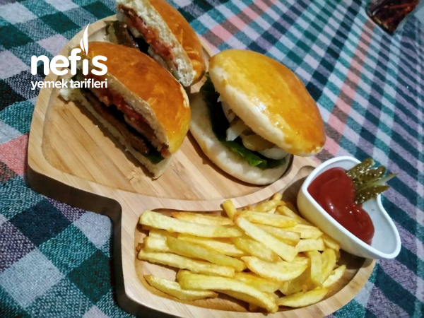 Hamburger Yapımı(Tüm Aşamalarıyla)