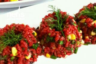 Muhteşem , Pancar Sulu Bulgur Salatası Tarifi