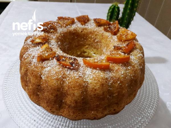 Portakallı Yılbaşı Keki
