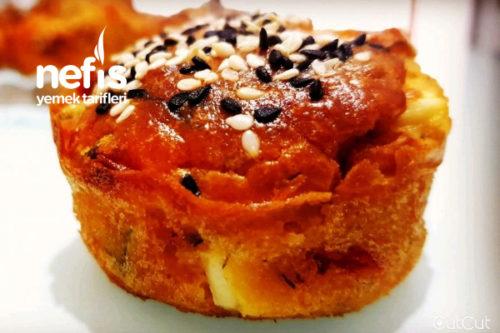 Kahvaltılık Tuzlu Muffin Tarifi