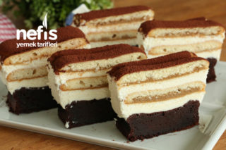 Çikolatalı Tiramisu Pasta Tarifi (videolu)