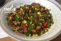 Meksika Fasülye Salatası Tarifi
