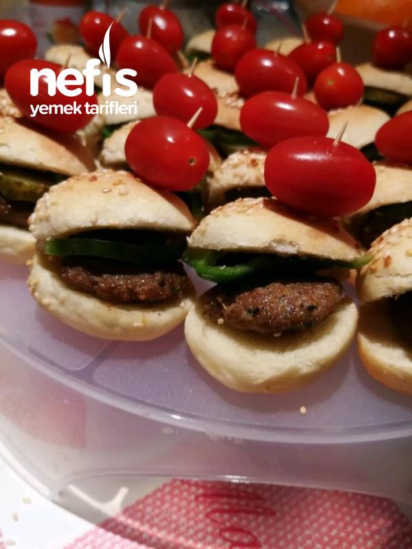 Mini Hamburger (aperatif)