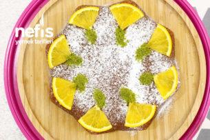 Portakallı Kek (Tarçın Cevizli) Tarifi