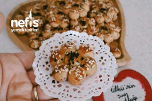 Çörek Otlu Çiçek Kurabiye Tarifi