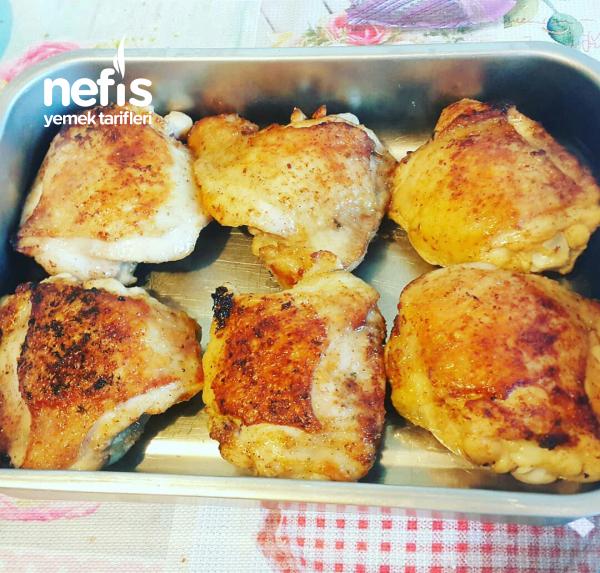 Kremalı Çıtır Tavuk (Kajun Baharatlı)