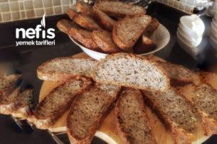 İtalyan Ekşi Mayalı Ekmek Sağlıklı Tarifi