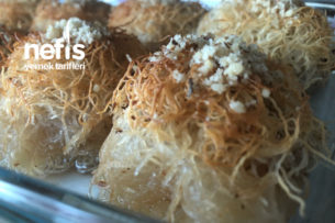 Kadayıflı Fincan Tatlısı Tarifi