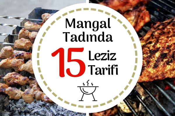 Mangal Tarifleri – Izgara Tadında 15 Nefis Tarifle Mutfakta Piknik Tarifi