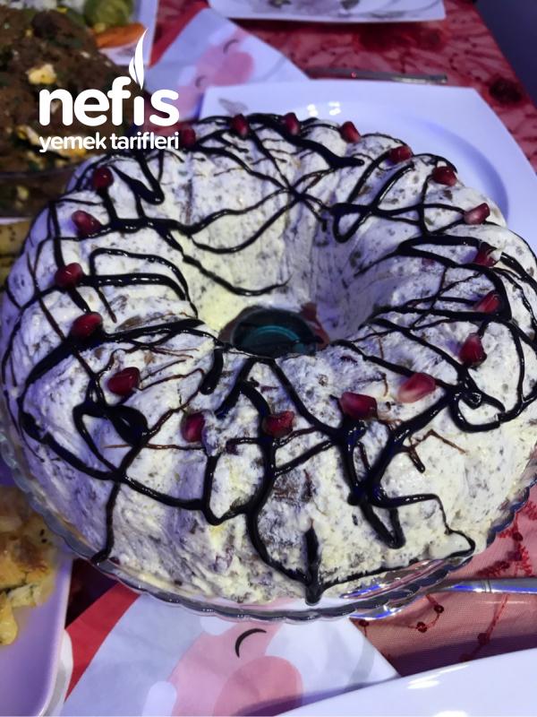 Meyveli Serin Pasta