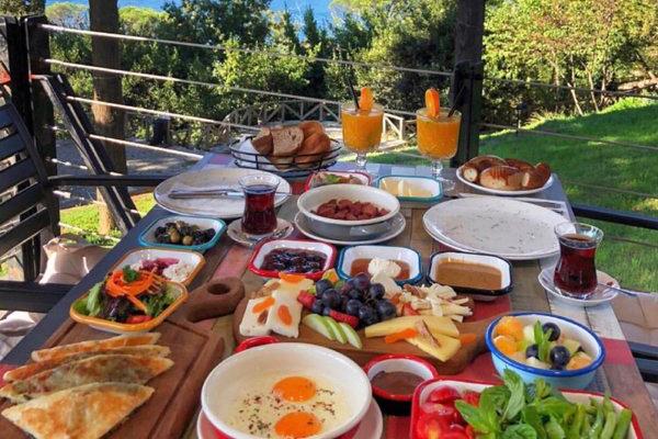 mihrabat korusu kahvaltı