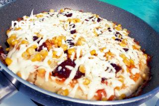 Tavada 15 Dakikalık Pizza Tarifi