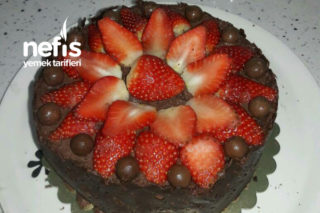 Çikolotalı Yaş Pasta Tarifi