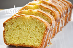 Limon Kaplamalı Nefis Kek (Video İle Tarif) Tarifi