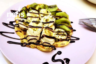 Pratik Waffle Hamuru Tarifi