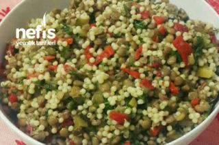 Yeşil Mercimekli Kuskus Salatası Tarifi