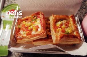 5 Dakika Pizzası Tarifi