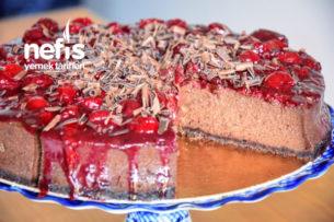 Çikolatalı Vişneli Efsane Cheesecake (Pratik Video İle) Tarifi