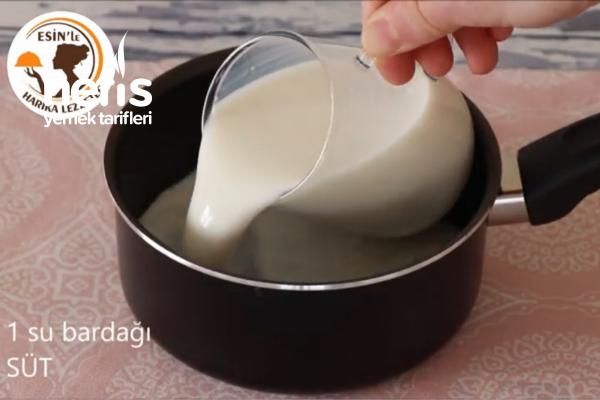 Ev Yapımı Tam Tadında Sıcak Çikolata (videolu)