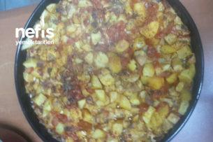 Fırında Sebzeli Tavuk Kebabı Tarifi