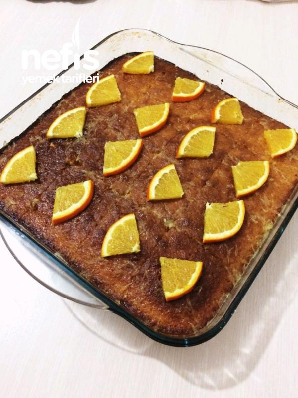 Portakallı Nefis Islak Kek