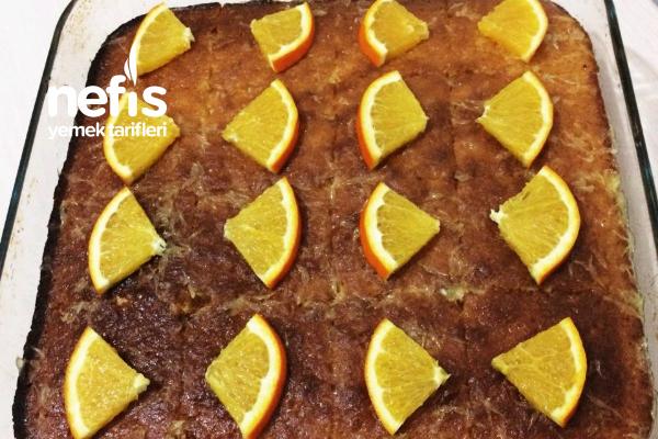 Portakallı Nefis Islak Kek Tarifi