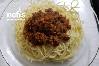 Spagetti Bolonez Tarifi