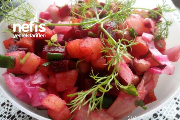 Vinegred Salatası Tarifi