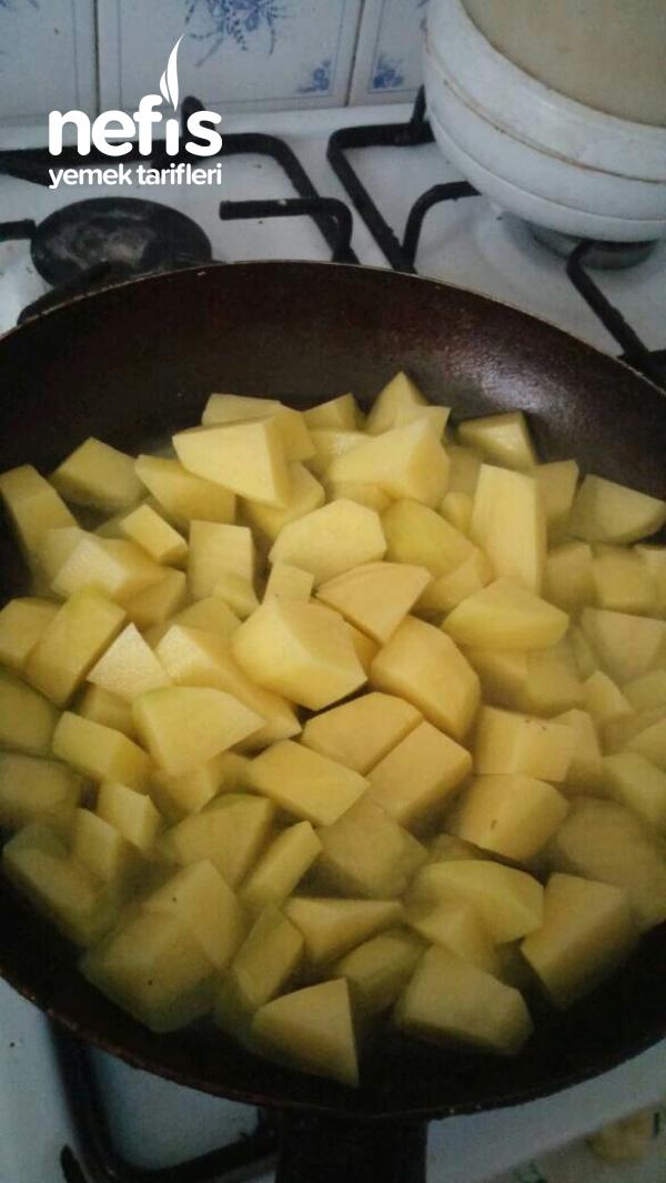 Etli Patatesli Havuçlu Borcam Firinda