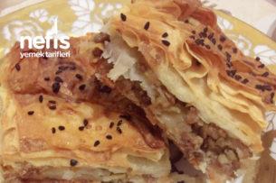Kıymalı Patatesli Börek (Hazır Yufkadan) Tarifi