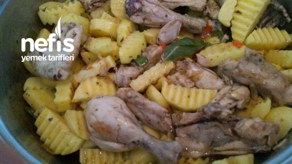 Patatesli Tavuk Yemeği