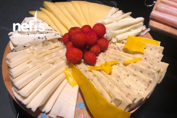 Peynir Tabağı (Şarabın Yanına) - Nefis Yemek Tarifleri