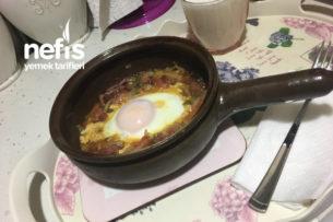 Soğanlı Pastırmalı Yumurta Tarifi