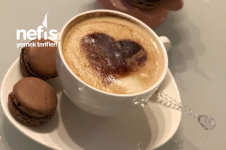 Zahmetsiz Vanilyalı Cappuccino Resimli Anlatım Tarifi