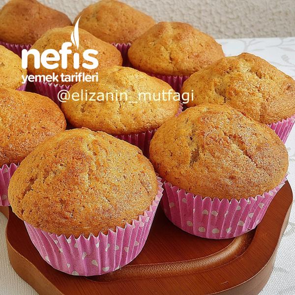 Hazır Tadında Havuçlu Tarçınlı Muffin