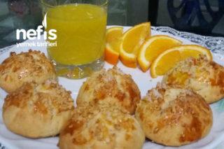 Mis Kokulu Aromasıyla Portakallı Kurabiyem Tarifi