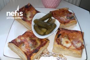 Şip Şak Çok pratik Pizza Tarifi