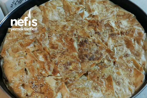 Kavurmadan Ispanaklı Börek Tarifi